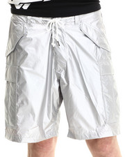 -FEATURES- - Metallic Rich Cargo Shorts