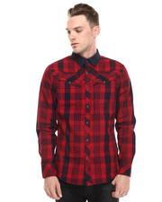 Men - Tailor A L/S Polar Check Shirt