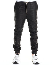Men - Sureshot Perforated Leather Jogger
