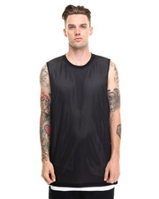 Shirts - Switch Up Mesh Muscle Tee