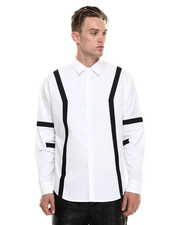 Shirts - Contrast Panel Buttondown
