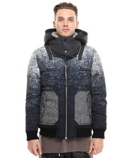 Jackets & Coats - Gradation Down Jacket w/ Hood