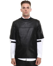 Shirts - Leatherette Tee