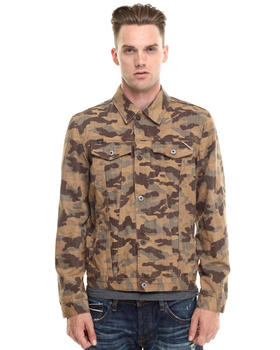 DJP OUTLET - Heritage Desert Camo Denim Jacket