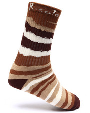 Buyers Picks - Wild Stripe Print Socks