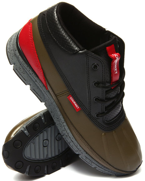 Gourmet - Men Olive,Red Quadici Lite
