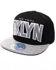 Buyers Picks - Brooklyn Hometown Croc Embossed Visor Snapback Hat