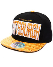 Buyers Picks - Pittsburgh Hometown Croc Embossed Visor Snapback Hat
