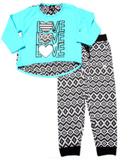 Sets - LOVE TOP & PRINTED JOGGER (4-6X)