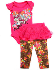 Sets - 3 PC SET - CREEPER, PANTS & TUTU (NEWBORN)