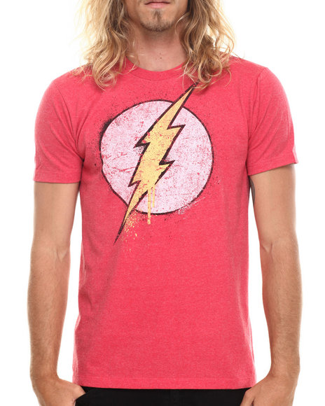 Graf-X Gallery - Men Red The Flash S/S Tee