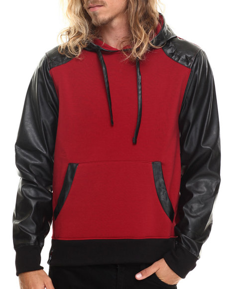 Enyce - Men Red Mercury Pullover Hoody