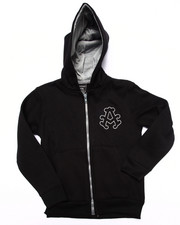 Hoodies - FLEECE FULL ZIP HOODY (4-7)