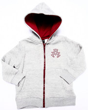 Boys - FLEECE FULL ZIP HOODY (2T-4T)
