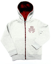 Boys - FLEECE FULL ZIP HOODY (4-7)
