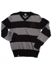 Sweaters - Y/D STRIPE SWEATER (8-20)
