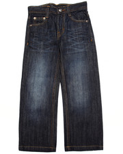 Bottoms - FLAP POCKET JEANS  (4-7)