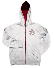 Boys - FLEECE FULL ZIP HOODY (8-20)