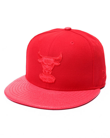 New Era - Men Red Chicago Bulls Ss Stinger 5950 Fitted Hat