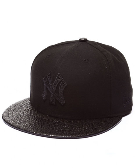 New Era - Men Black New York Yankees Ss Stinger 5950 Fitted Hat