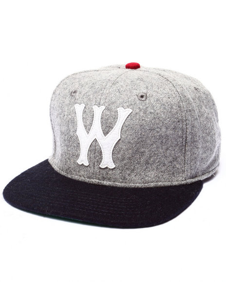 Wesc Men Club W Strapback Hat Grey
