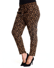 ALI & KRIS - Animal Print Soft Pant (Plus)