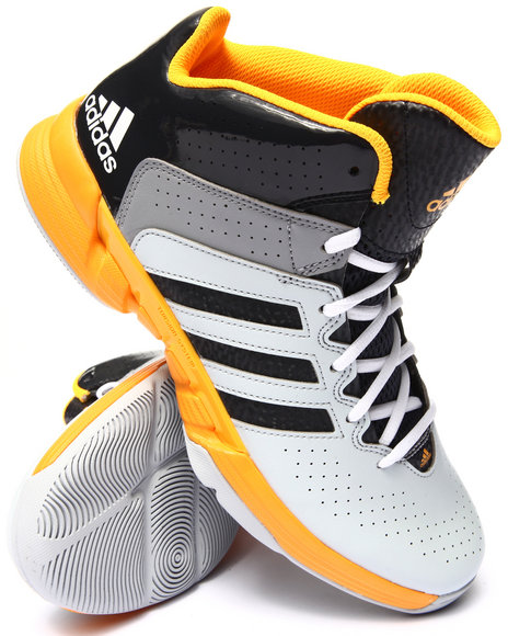 Adidas - Men Grey Cross Em 3 Sneakers