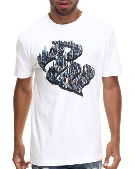 Rocawear - Men White City Of Dreams Tee