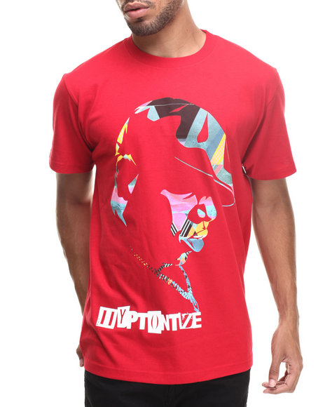 Buyers Picks - Men Red Hyptontize S/S Tee