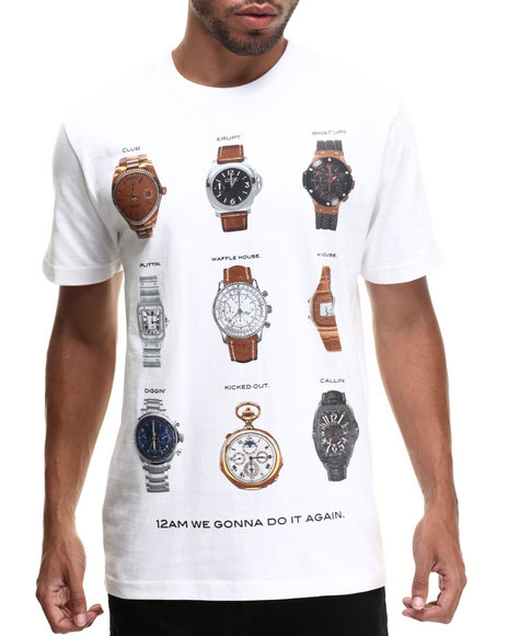 Rocawear - Men White Watch Alert Tee - $17.99