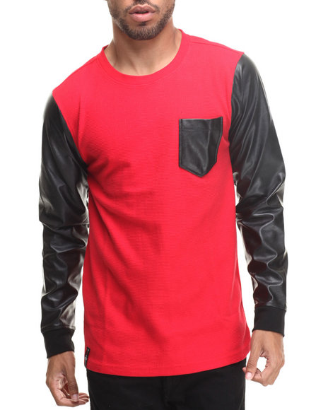 Enyce - Men Red Machhia Neva Thermal - $15.99