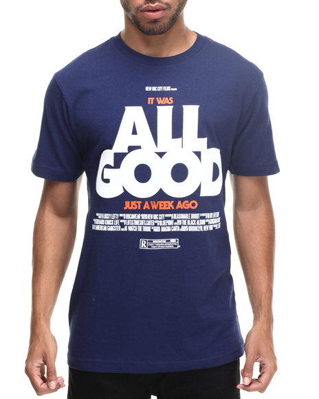 Rocawear - Men Blue All Good Tee