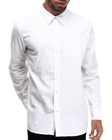 Rocawear White Button-Downs