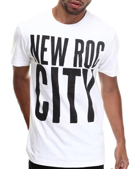 Rocawear - Men White New Roc Flip Tee - $15.99
