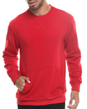 Sweatshirts & Sweaters - Lt. Fleece Kangaroo Pocket Sweatshirt