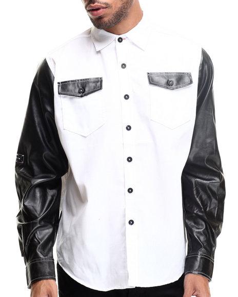 Enyce - Men White Harlem L/S Button-Down