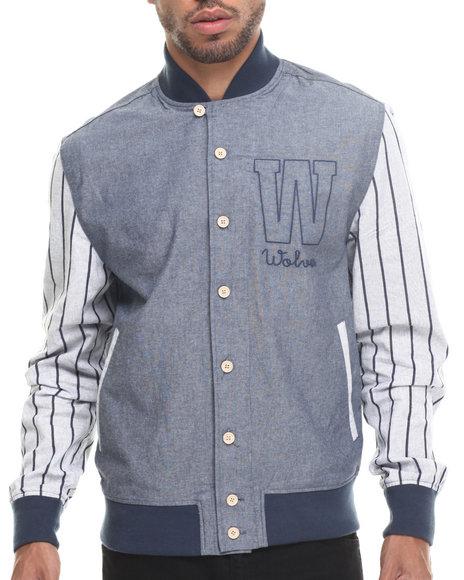 Rocawear - Men Blue Wolfpack Chambray Jacket