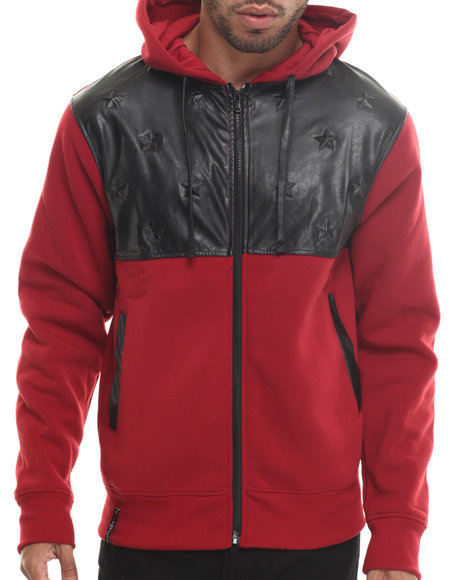 Enyce - Men Red Eagor Full Zip Hoody