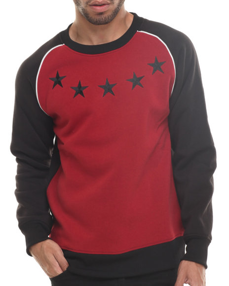 Enyce - Men Red Wolf Sweatshirt - $22.99