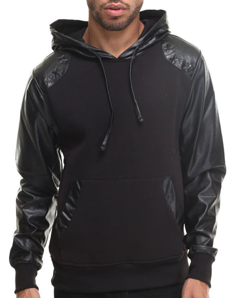 Enyce - Men Black Mercury Pullover Hoody