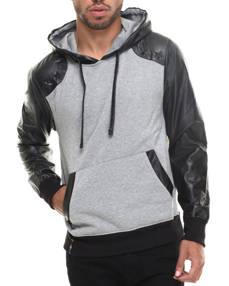 Enyce - Men Grey Mercury Pullover Hoody