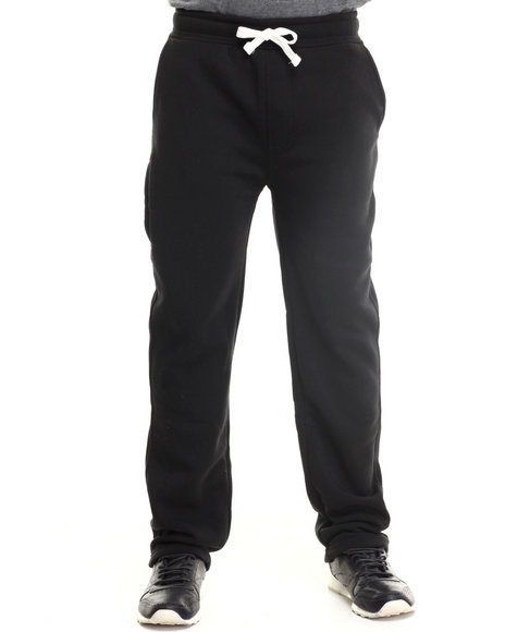 Buyers Picks - Men Black Lt. Fleece Sweatpants
