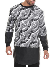 Buyers Picks - Zig-Zag E-longated Sweatshirt
