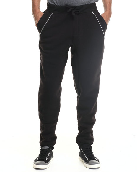 Enyce - Men Black Hound Joggers - $22.99