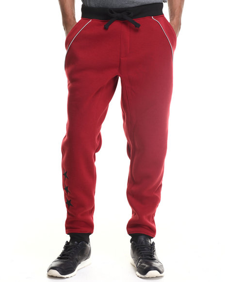 Enyce - Men Red Hound Joggers