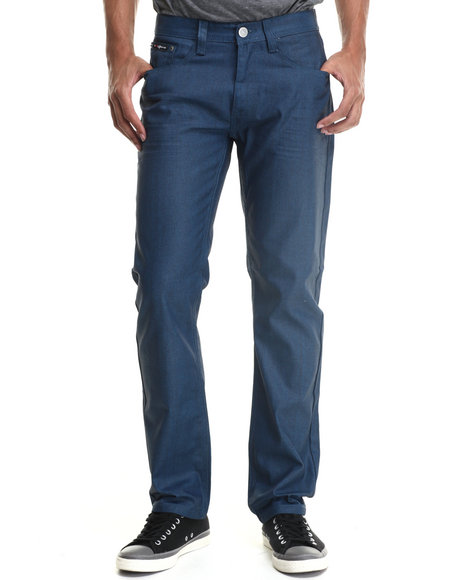 Enyce - Men Blue Brooklyn Coated Denim Jeans