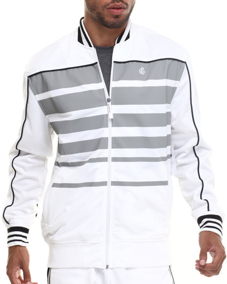 Rocawear - Men White Streets Track Jacket
