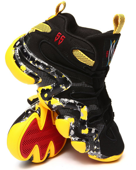 Adidas - Men Black,Red,Yellow Crazy 8 Sneakers