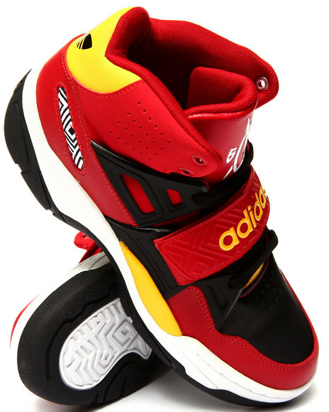 Adidas - Men Black,Red Mutombo Tr Block Sneakers