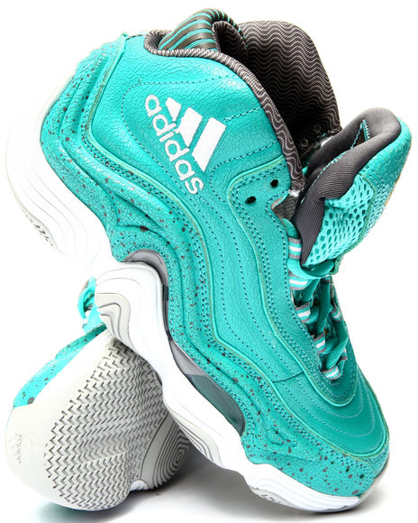 Adidas - Men Green,Teal Crazy 2 Sneakers